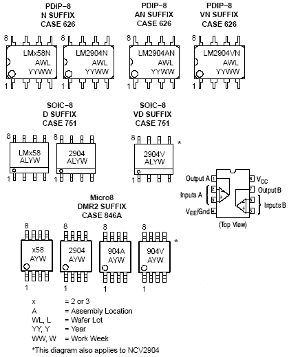 LM358: Operational Amplifier, Single Supply, Dual