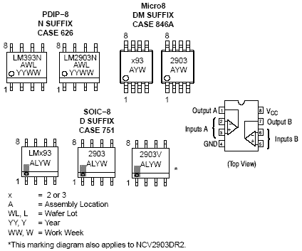 LM293: Comparator, Dual, Low Offset Voltage