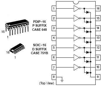 Cpu additionally Circuito Indicador De Nivel De Agua Usando O Uln2004 additionally Transistor Array High Voltage together with Uln2003 Stepper Motor Driver Board moreover Relay Driver Circuit Uln2003. on uln2003 ic datasheet