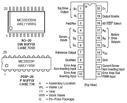 Mc Pkg on 3 Phase Bldc Motor Controller