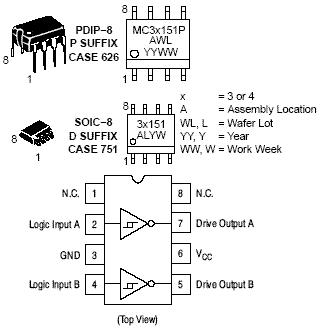 MC33151: High Sd Dual MOSFET Driver