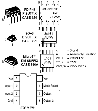 MC33161: Voltage Supervisor, Universal Voltage Monitor