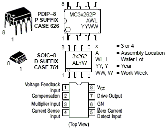 MC33262: Power Factor Controller (PFC)