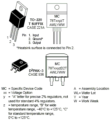 MC78T12: 3 A, 12 V, Positive Voltage Regulator