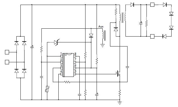 NCL30083: Step Dimmable Quasi-Resonant Primary Side Current-Mode Controller for LED Lighting with thermal foldback