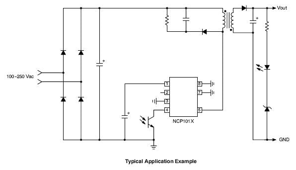 NCP1010: High Voltage Switching Regulator for Offline SMPS