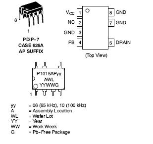 NCP1015: High Voltage Switching Regulator for Offline SMPS