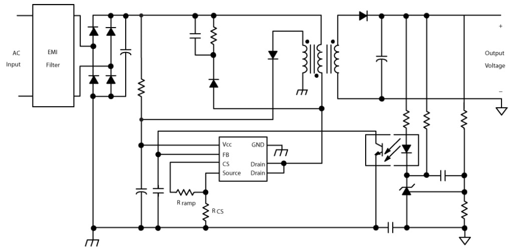 NCP1126: High Voltage Switching Regulator for Offline SMPS