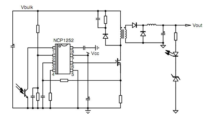 NCP1252: PWM Controller, Current Mode, for Forward and Flyback Applications