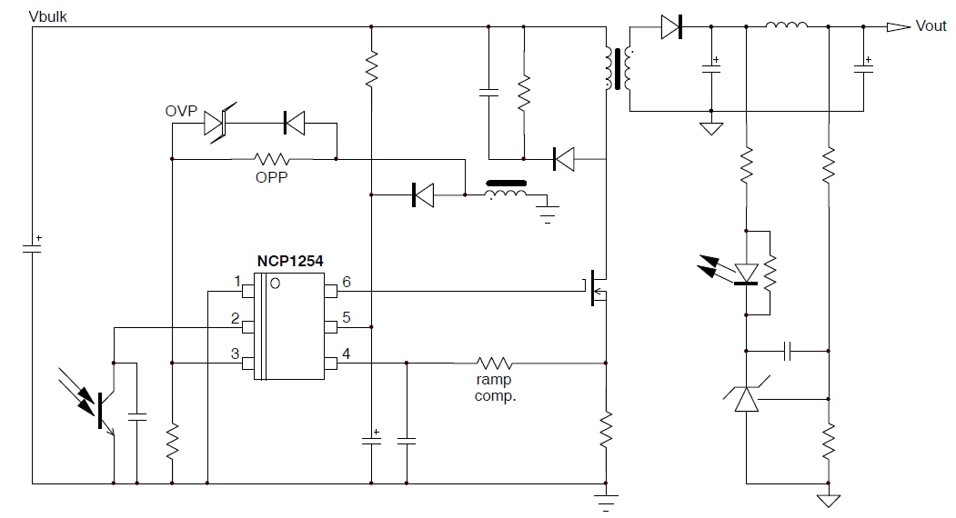 NCP1254: PWM Controller, Current Mode, for Offline Power Supplies