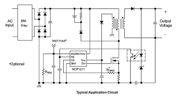 ncp1271  pwm controller  soft