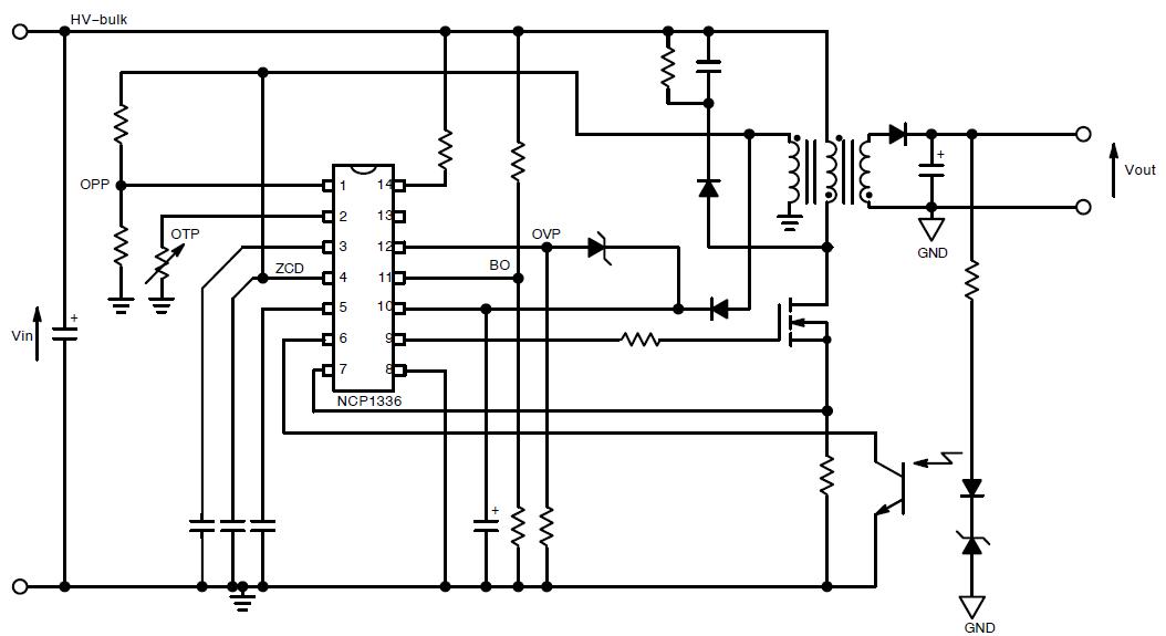 ncp1336  controller  quasi