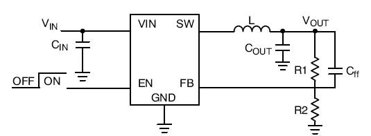 NCP1529: Buck Converter, DC-DC, High Efficiency, Adjustable Output Voltage, Low Ripple, 1.7 MHz, 1 A