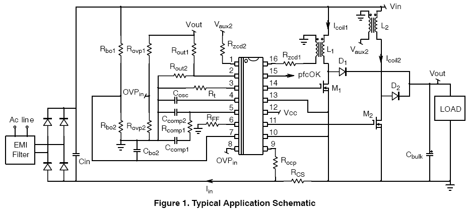 NCP1631: Power Factor Controller, 2-Phase, Interleaved