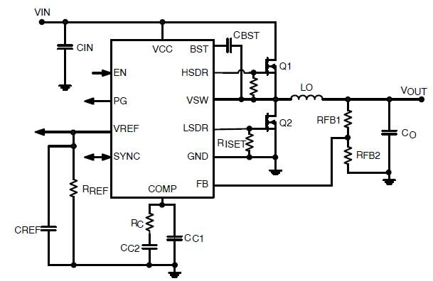 NCP3012: Synchronous PWM Controller