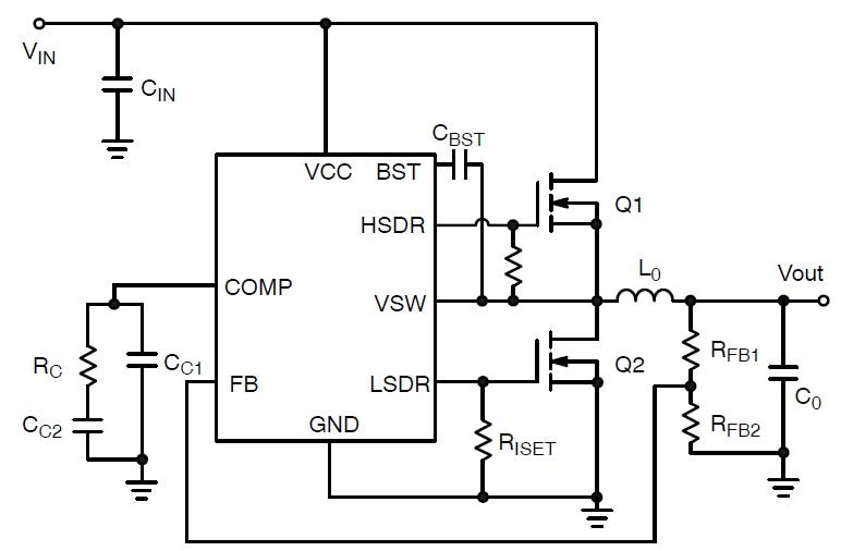 NCP3030: Synchronous PWM Controller