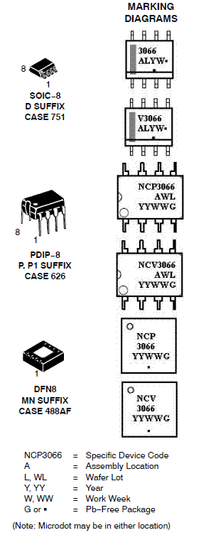 NCP3066: Buck / Boost / Inverting Regulator, Switching, Constant Current, 1.5 A, for HB-LEDs with Enable