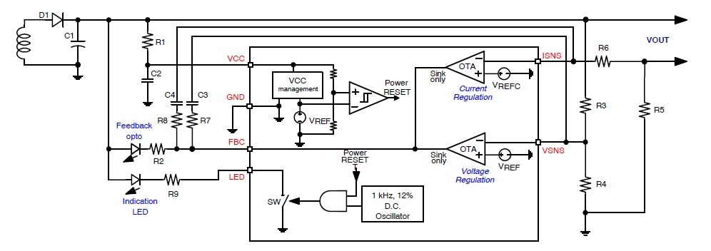 NCP4328: Secondary Side Controller, Constant Voltage / Constant Current (CV / CC)