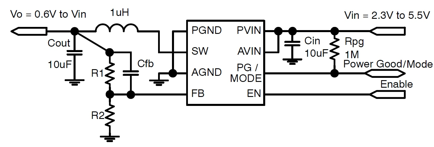 ncp6334  synchronous buck converter  3 mhz  2 0 a