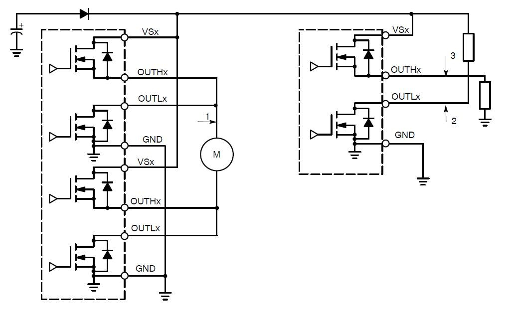 NCV7708B: Motor Driver, Double Hex