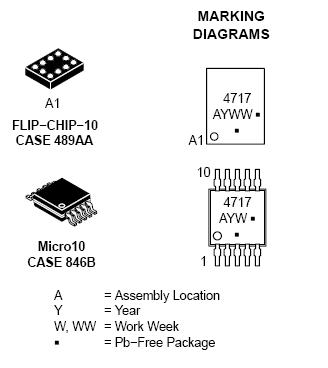 NLAS4717: Analog Switch, High Bandwidth, Dual SPDT