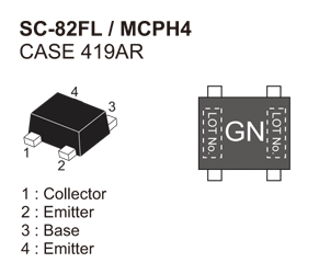 RF Transistor for Low Noise Amplifier