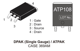 NVATS5A108PLZ: P-Channel Power MOSFET, -40V, -77A, 10.4mΩ