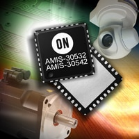 The new AMIS-30532 and AMIS-30542 micro-stepping stepper motor drivers.