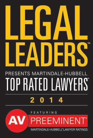 Top rated lawyer logo