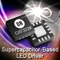 CAT3224 Supercapacitor-Based LED Driver