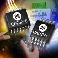 The CAT5270 and CAT5271 are dual-channel digital potentiometers with 256 resistor taps for fine resolution adjustment and an I2C-compatible interface for maximum interoperability.