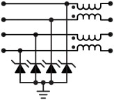 Low Capacitance ESD + Common Mode Filter Diagram