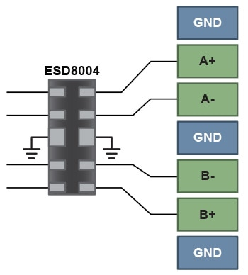 Low Capacitance ESD