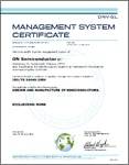 ISO/TS 16949:2009 Certificate for Pocatello, ID
