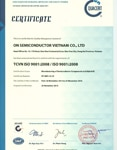 ISO 9001:2008 Certificate for Bien Hoa, Dong Nai Province