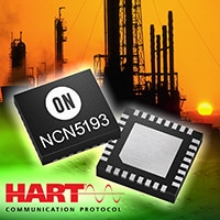 NCN5193 single chip CMOS HART modem IC.
