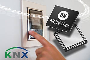 KNX certified high efficiency twisted pair transceivers