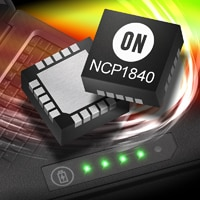 NCP1840 Multi-Channel LED Driver image.