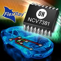 NCV7381 Single Channel FlexRay Transceiver.