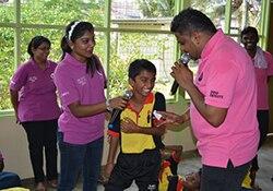 Orphanage visit Malaysia
