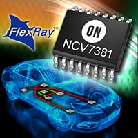 NCV7381 Single Channel FlexRay Transceiver