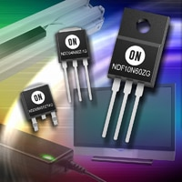ON Semiconductor Expands High-Voltage MOSFET Portfolio
