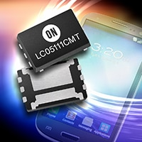 LC05111CMT helps reduce charging time of portable electronics with high-precision control of charge/discharge current