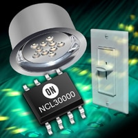 New Power Factor Corrected LED Driver from ON Semiconductor Supports TRIAC Dimming for Residential and Commercial Lighting Applications