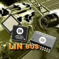 Microstepping Motor Driver and Controller with LIN Bus