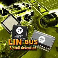 Microstepping Motor Driver and Controller with LIN Bus and Stall Detection