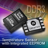 CAT34TS02: Temperature Sensor with EEPROM Memory