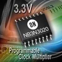 Clock Multiplier, LVPECL / LVCMOS, Programmable, 3.3 V