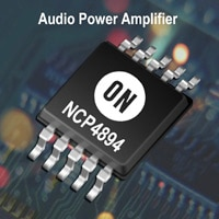 Audio Power Amplifier, 1.8 Watt, with Selectable Shutdown Image