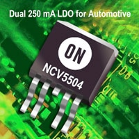 Linear Voltage Regulator, LDO, 250 mA Image